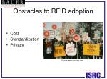 obstacles to rfid adoption