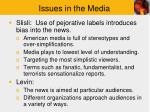 issues in the media3