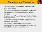 terrorism and television1