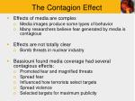 the contagion effect