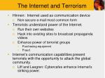 the internet and terrorism1