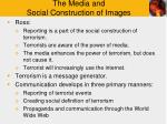 the media and social construction of images