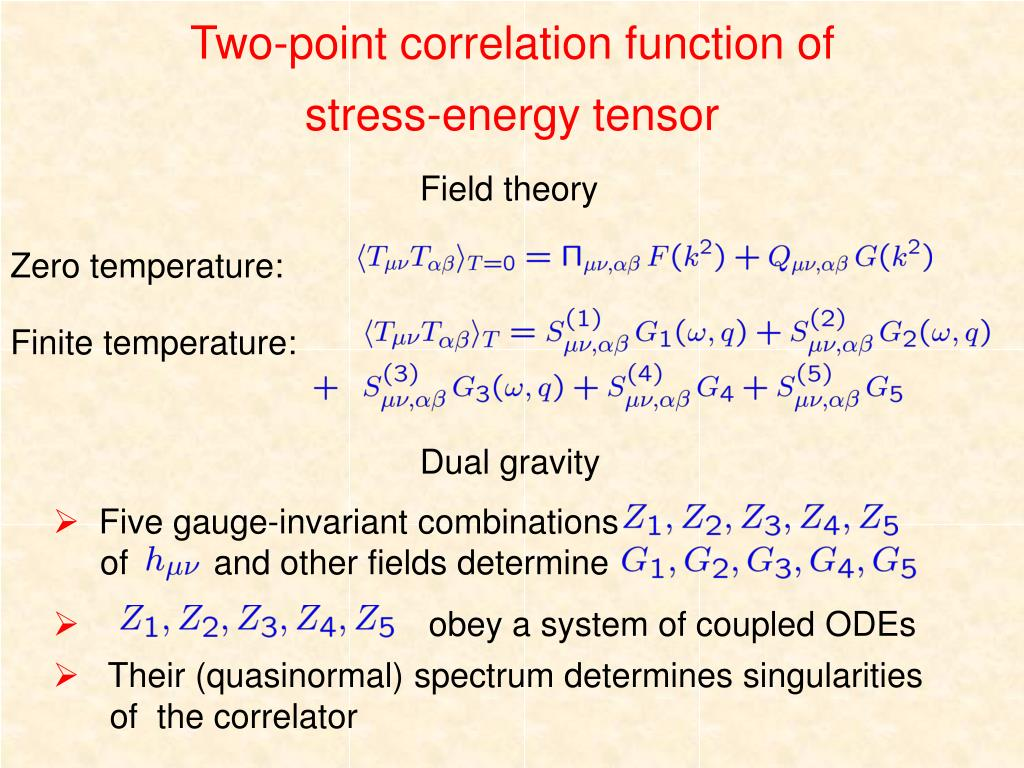 PPT - AdS/CFT correspondence and hydrodynamics PowerPoint