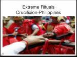 extreme rituals crucifixion philippines