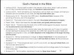 god s hatred in the bible