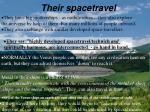 their spacetravel