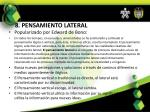 8 pensamiento lateral