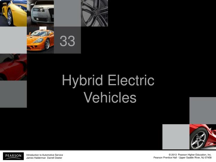 hybrid electric vehicles n.