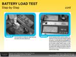 battery load test step by step cont1