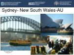 sydney new south wales au