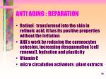 anti aging reparation
