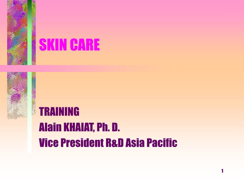 skin care l.