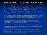 antike 500 v chr bis 500 n chr