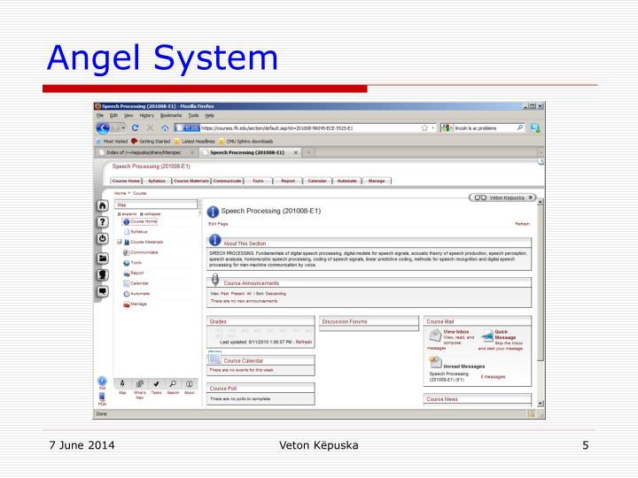Angel System