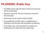 pk dnssec public key