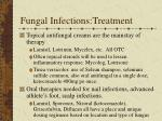 fungal infections treatment