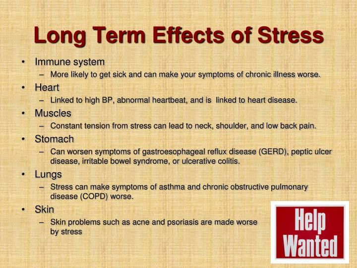 Long Term Effects of Stress