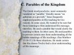 i announcing the kingdom of god c