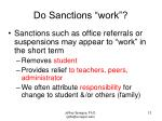 do sanctions work