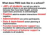 what does pbis look like in a school