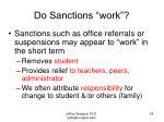 do sanctions work