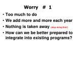 worry 11