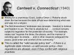 cantwell v connecticut 19401