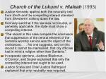 church of the lukumi v hialeah 19931