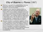 city of boerne v flores 19971