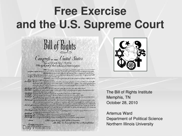 free exercise and the u s supreme court n.