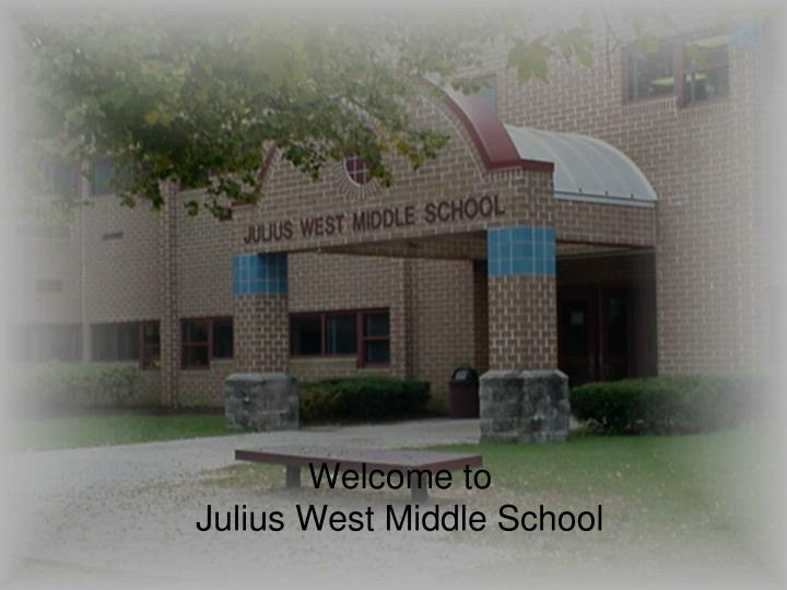 welcome to julius west middle school n.
