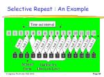 selective repeat an example