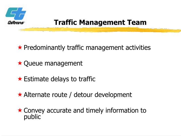 Traffic Management Team