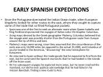 early spanish expeditions