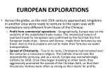 european explorations