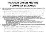 the great circuit and the columbian exchange