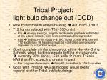 tribal project light bulb change out dcd