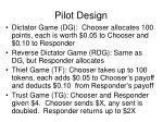 pilot design37
