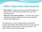 other important information1