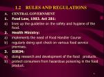 1 2 rules and regulations