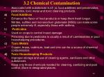 3 2 chemical contamination