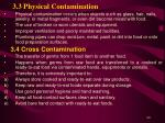 3 3 physical contamination