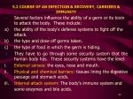 5 2 course of an infection recovery carriers immunity