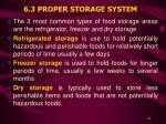 6 3 proper storage system