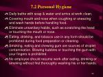 7 2 personal hygiene