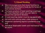 7 3 hand washing