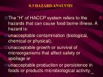 8 3 hazard analysis