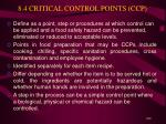 8 4 critical control points ccp