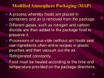 modified atmosphere packaging map