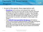 exemplar hie governance program1